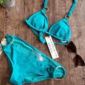 Vitamin A Soleil Braided string two piece Bikini